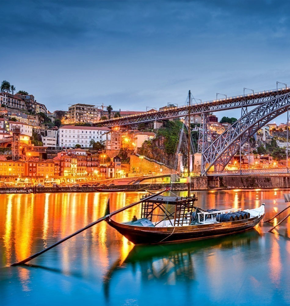 The Douro River with rabelo boats in Porto, Portugal | TOP 10 Most Romantic European Cities You Must Visit