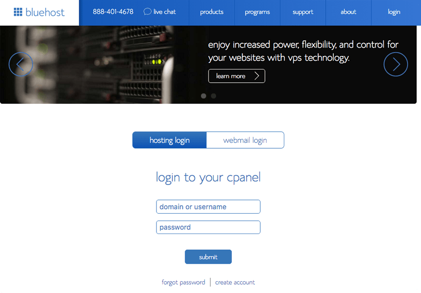 9-start-a-travel-blog_cPanel -Login