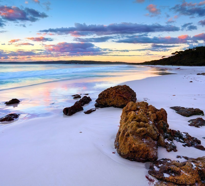 The Amazing Sunrise at Hyams Beach | Top 10 Australian Beaches That You Must Include in Your Bucket List