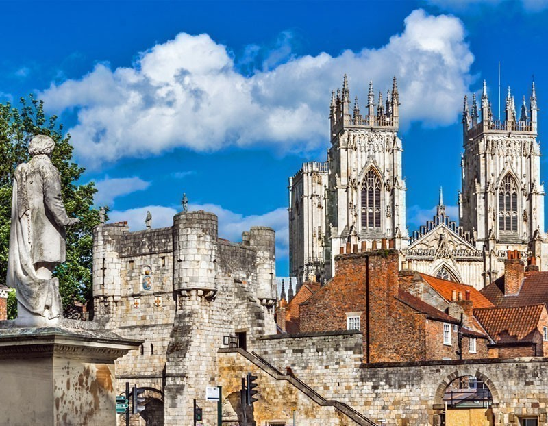 Located at the confluence of Ouse and Foss rivers, York is a beautiful walled city in North Yorkshire, England | Top 10 Most Beautiful Walled Cities in the World You Must Visit