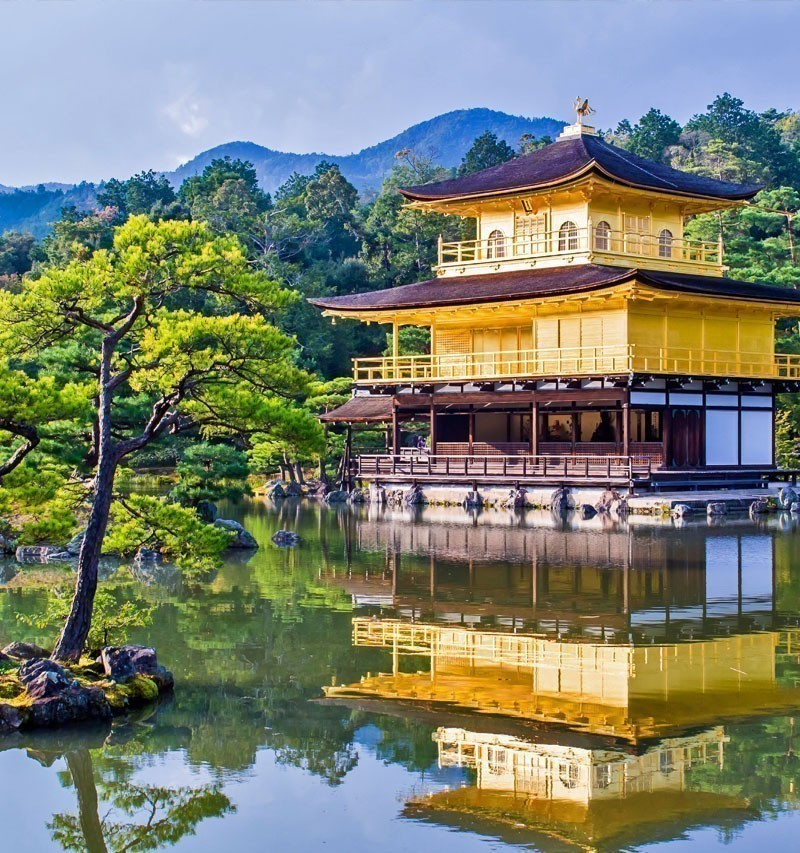 Kinkaku-ji, the Golden Pavilion in Kyoto | TOP 10 Tourist Attractions in Japan You Must Visit