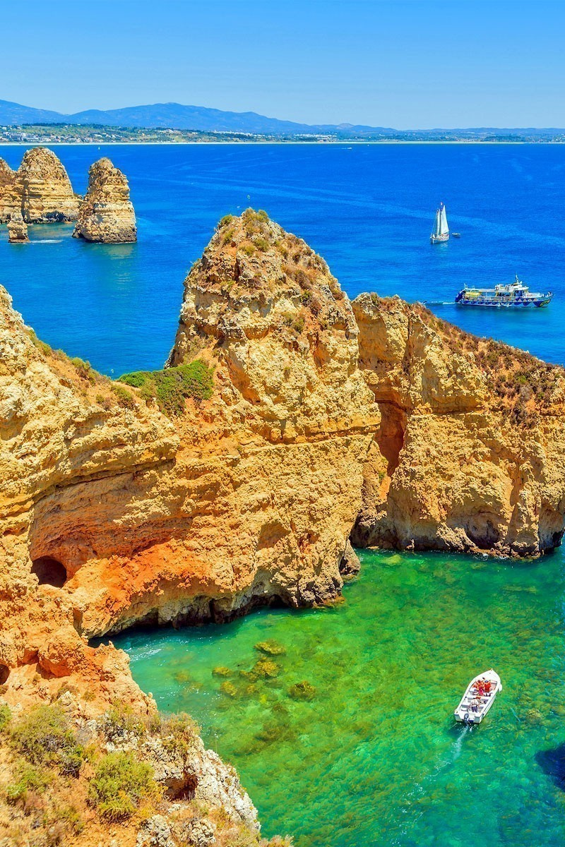 Amazing View of Ponta da Piedade, Algarve region, Portugal | TOP 10 Places To Travel in May