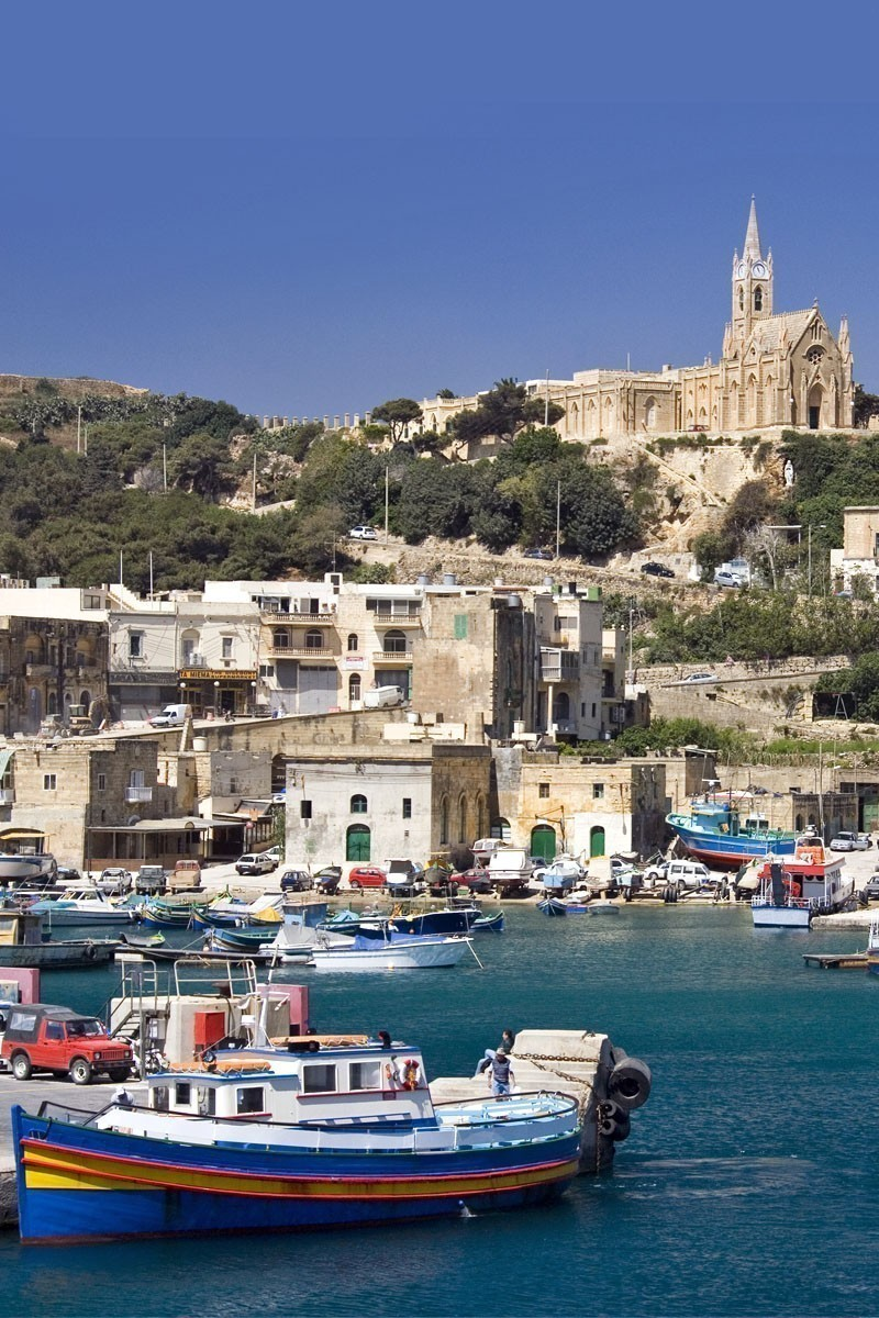 Port of Mgarr on the small island of Gozo - Malta | TOP 10 Places To Travel in May