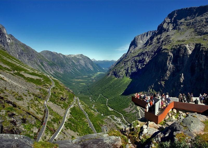 Beautiful View of Trollstigen | 10 Top-Rated Tourist Attractions in Norway