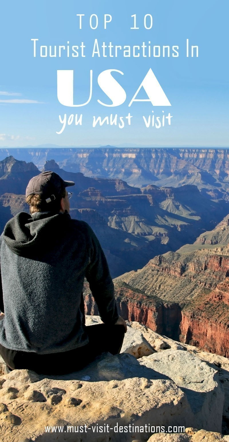 TOP 10 Tourist Attractions In America You Must Visit #travel #usa