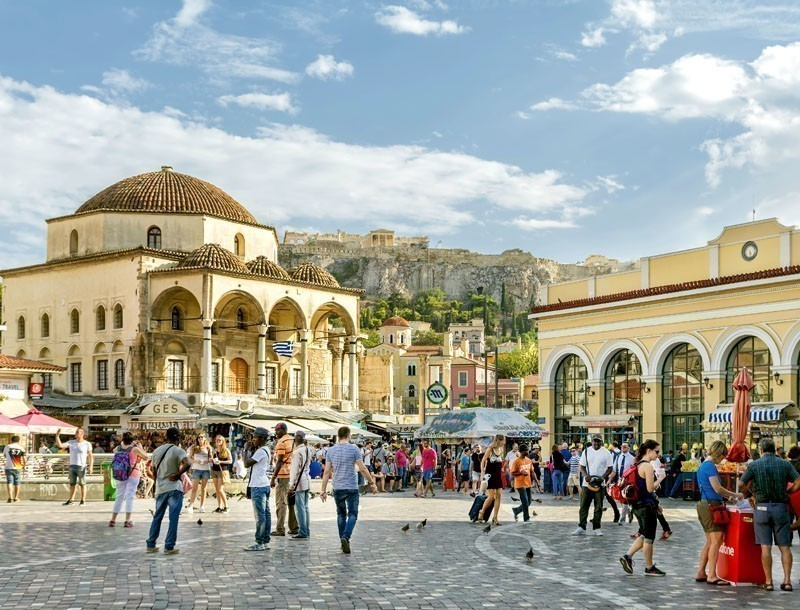 View of Monastiraki Square     |   What to Do in Athens in 3 Days