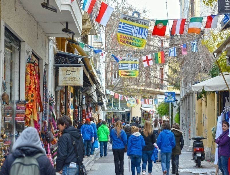 The Andrianou Street    |   What to Do in Athens in 3 Days