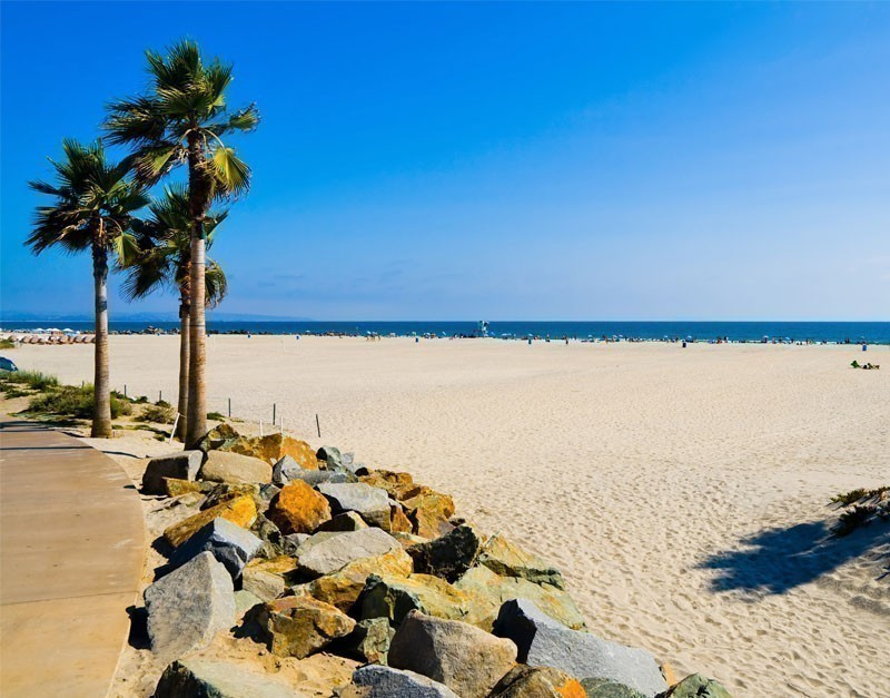 Coronado Beach in San Diego, California, a staple of tourism in the area | 10 Of The Best Beaches In California