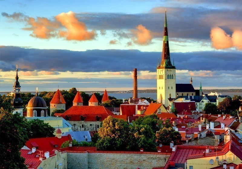 St. Olaf's Church, The Burj Khalifa of the Middle Ages situated in Tallinn, Estonia | What to Do in Tallinn in 3 Days
