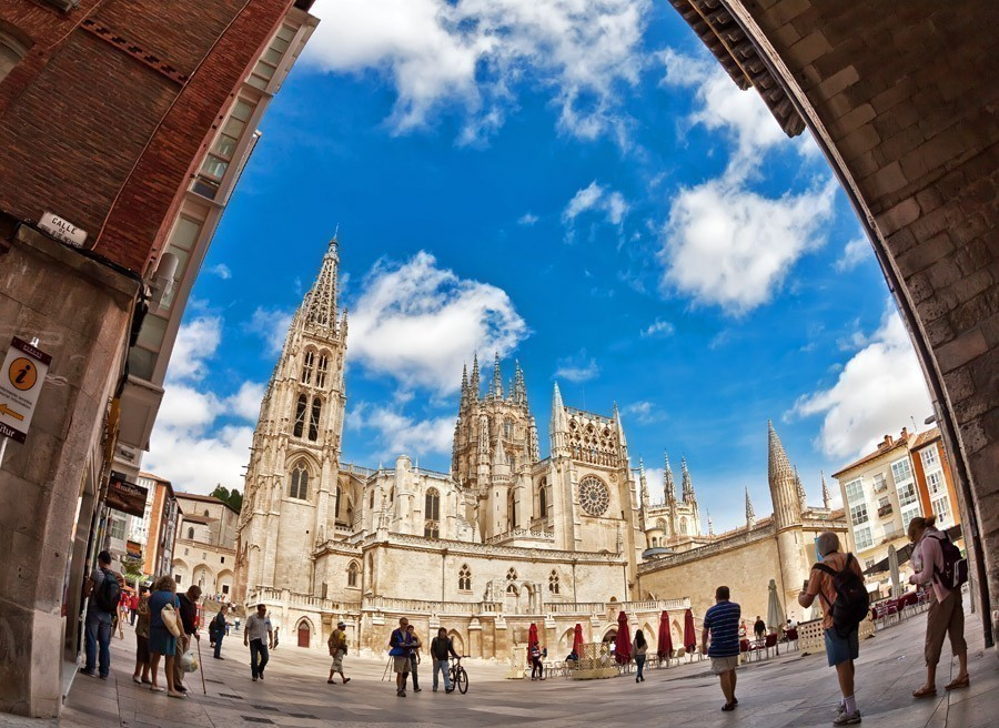 Burgos Cathedral is a formidable Gothic cathedral in Burgos, Spain | 10 Hidden Tourist Gems In Spain You Didn't Know About