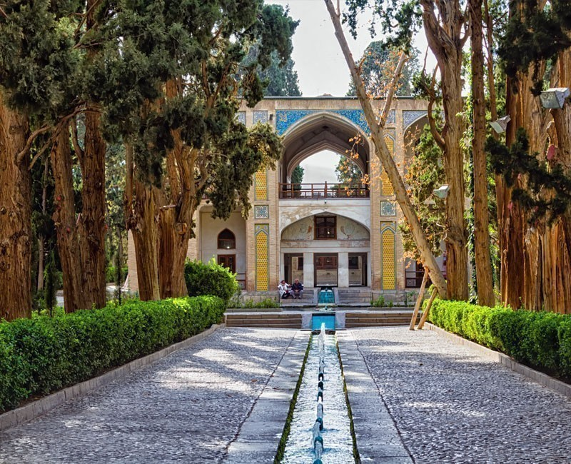 View of the Fin Garden or Fin Bagh near the persian city of Kashan | Why You Need to Visit Iran and Where to Go