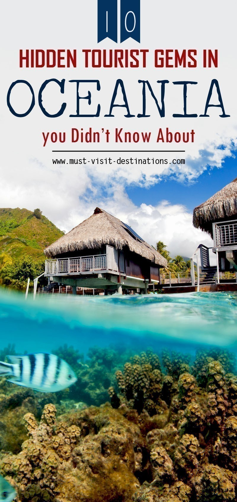 10 Hidden Tourist Gems In Oceania You Didn't Know About #oceania #travel