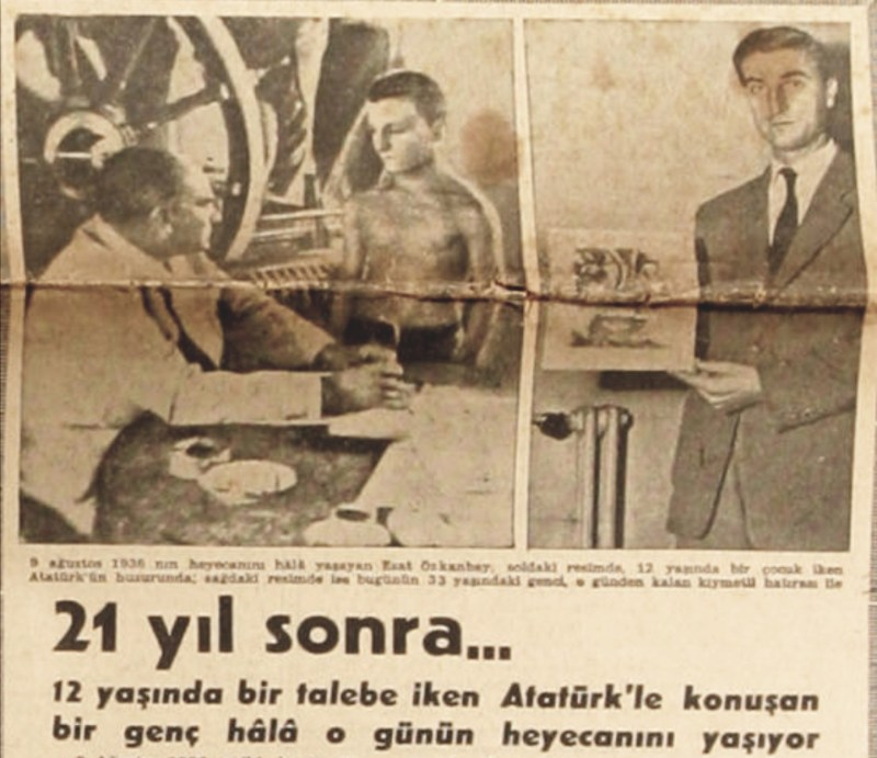 Minik Hasan Esat'ın Atatürk'le Karşılaşması