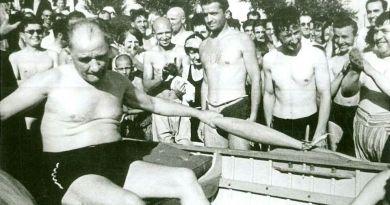 Galatasaraylı Sporcu: Atatürk'le Beraber Kürek Çekmiştik