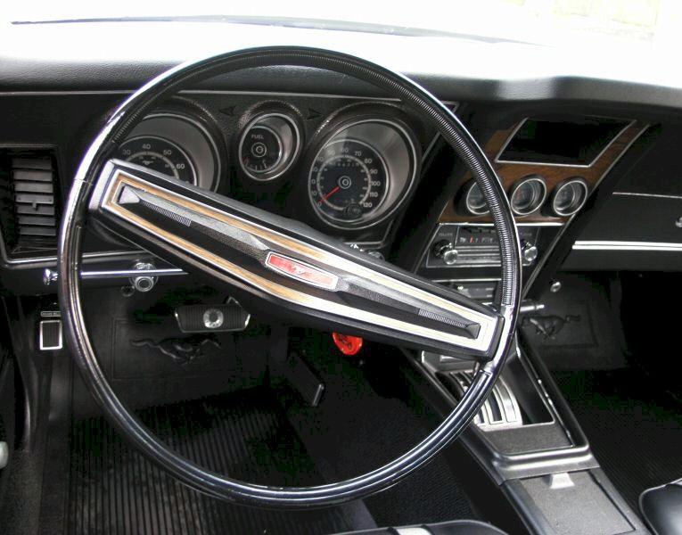 1972 Pewter Mustang Mach 1