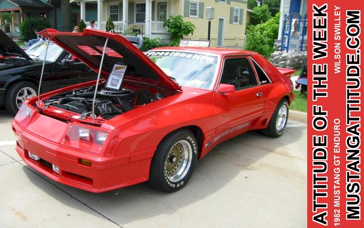 If you&aposre lucky enough to be in a position to buy one of these automotive works of art, then there&aposs no reason not to (we. Bright Red 1982 Ford Mustang Gt Enduro Fastback Mustangattitude Com Mobile
