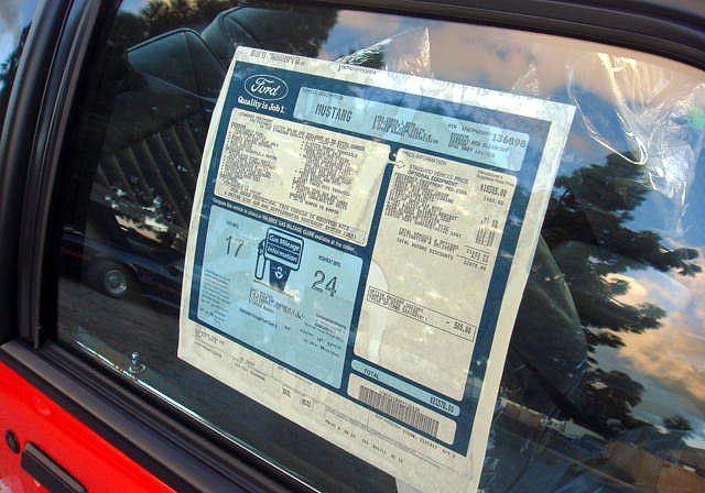 Vibrant Red 1993 Ford Mustang Svt Cobra Hatchback