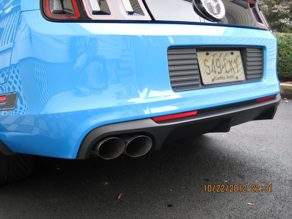 2013 gt500 quad exhaust tips
