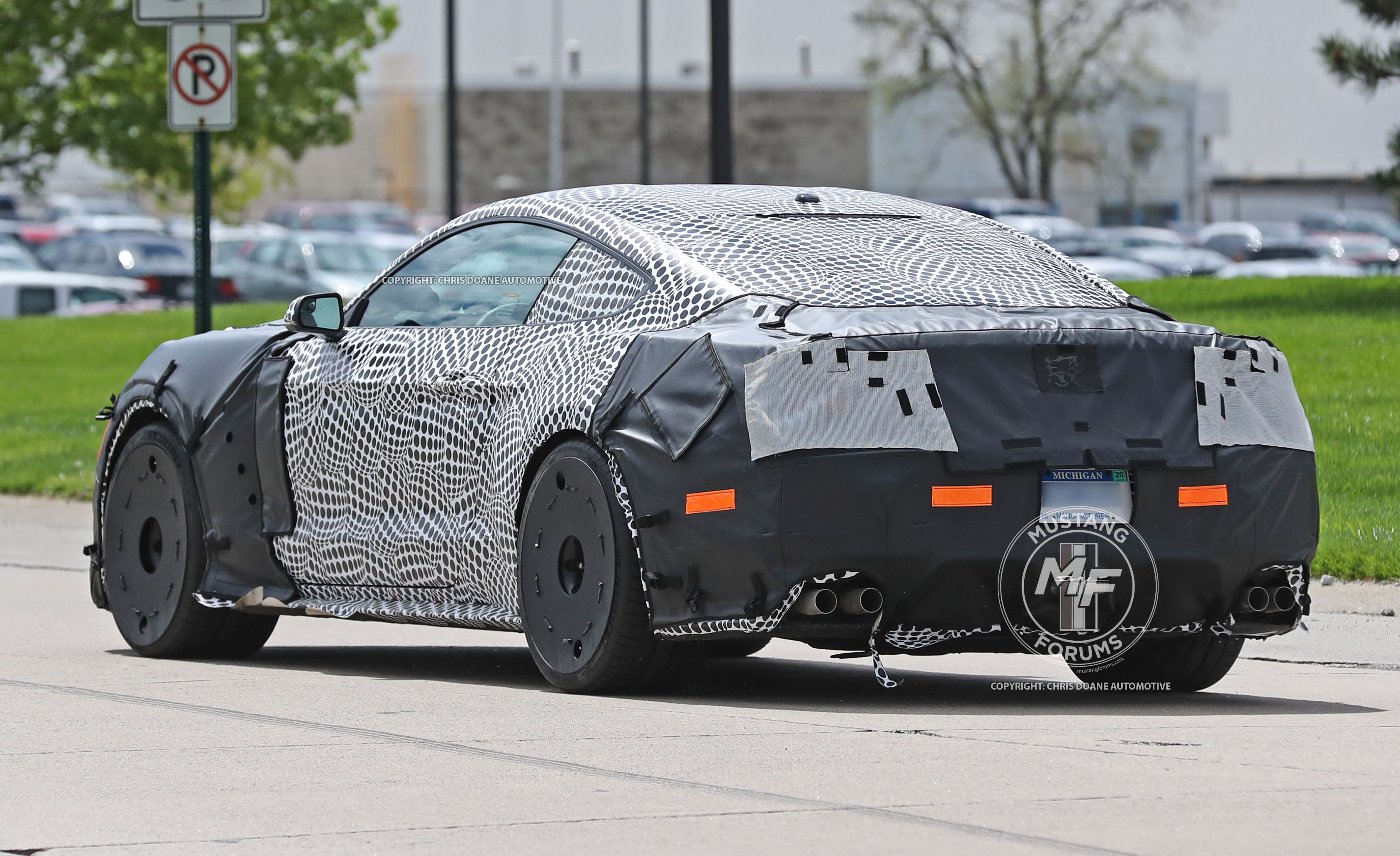 2019 ford mustang shelby gt500 spy shots 4  mustangforums