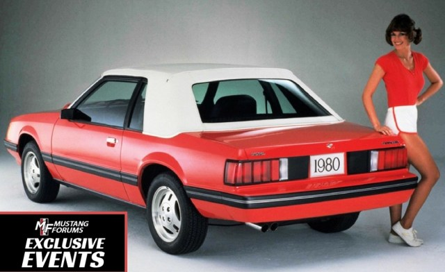Check out the Fox body Mustangs at Radwood 2 on December 2.