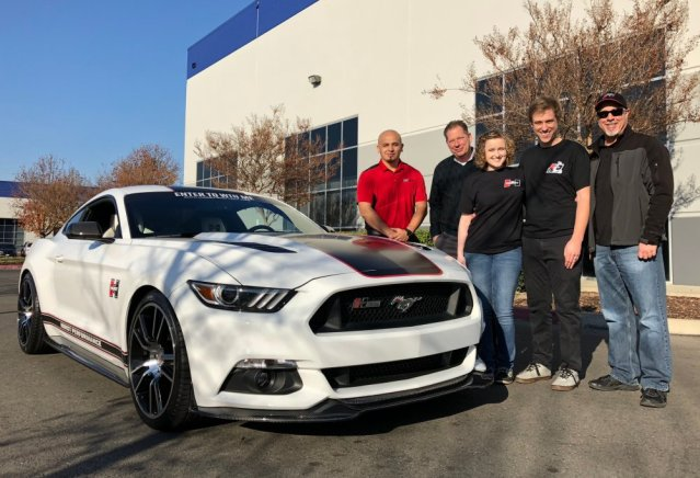Mustang Forums - Hurst Elite Series Mustang Sweepstakes Winner Meets His Muscle Car