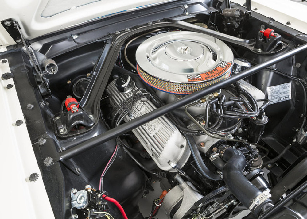 1965 Mustang Gt350 Engine