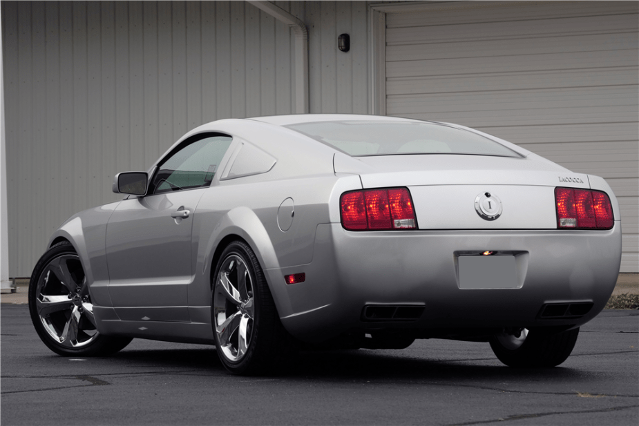 2009 Iacocca Silver 45th Anniversary Mustang