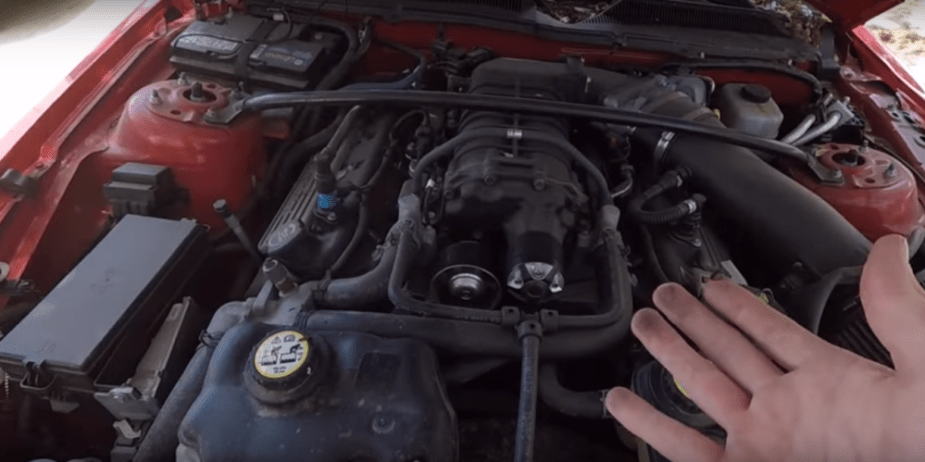 YouTuber Buys Wrecked GT500 for Ultimate Crown Vic Build