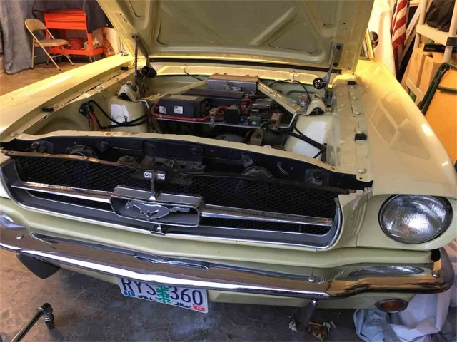 Electric Mustangs: Classic 1965 Mustang EV conversion