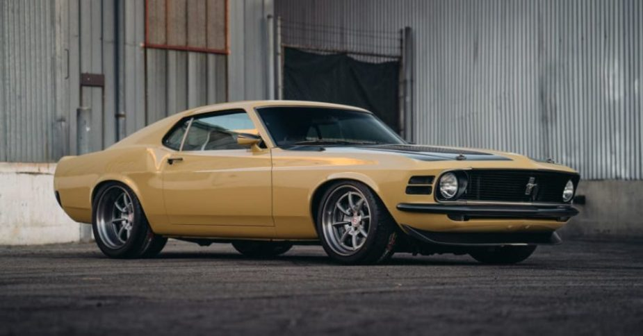 Robert Downey Jr.'s Mustang Boss 302