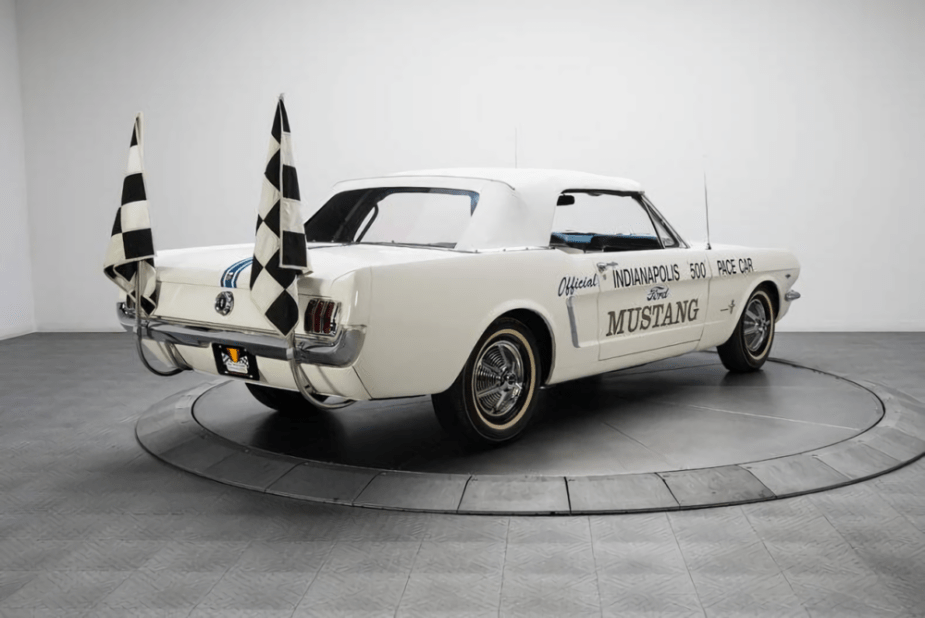 1964 Ford Mustang Indianapolis 500 Pace Car