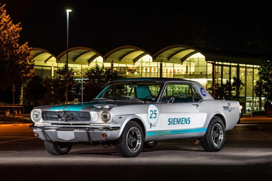 1965 Siemens Autonomous Mustang - Goodwood Festivals of Speed