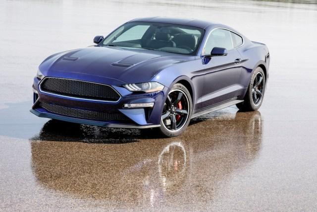 Kona Blue Ford Mustang Bullitt.