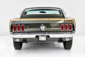 1969 Ford Mustang Mach 1 in Australia.