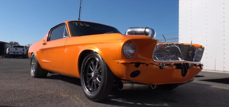 1967 Ford Mustang Low Front