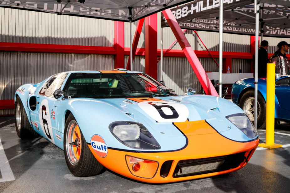 Carroll Shelby Cruise-In at the Petersen - Ford GT40