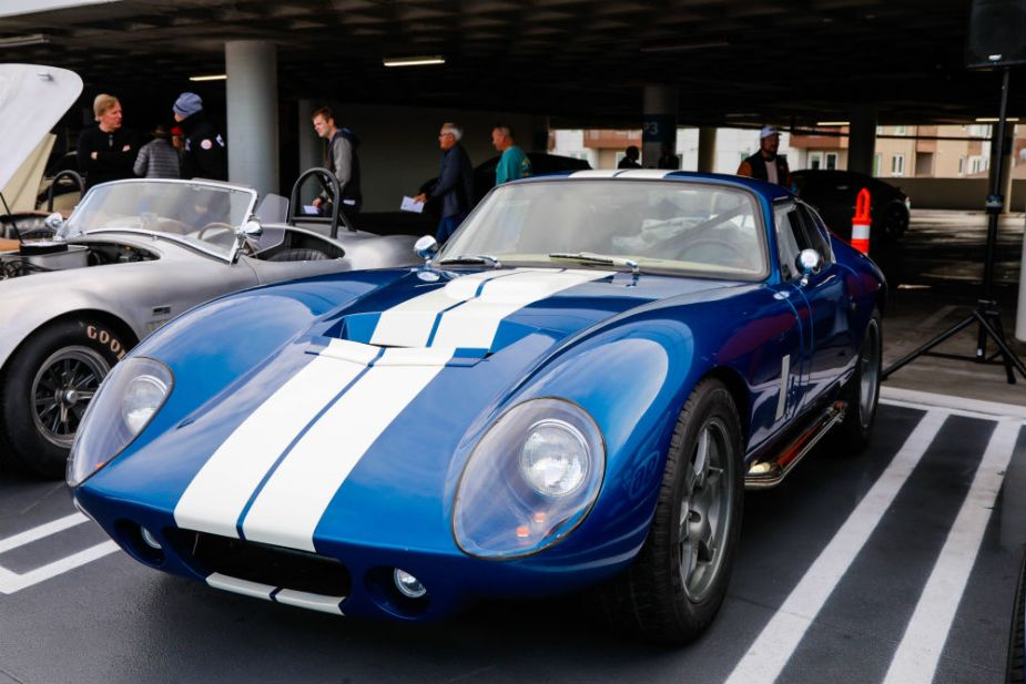 Carroll Shelby Cruise-In at the Petersen - Shelby Daytona Coupe