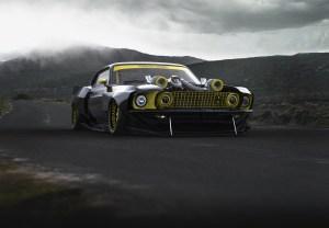 Mustang Rendering