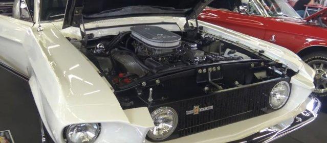 1967 Mustang GT500 Front