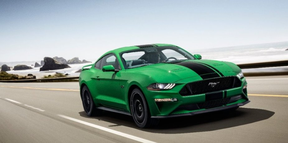 Need for Green Ford Mustang GT