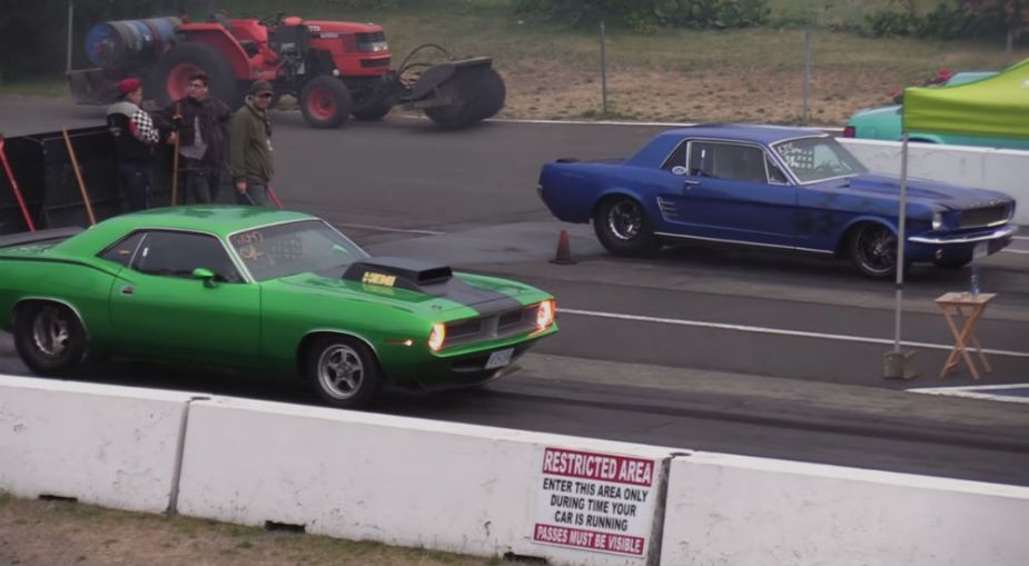 1965 Ford Mustang vs 1970 Plymouth Cuda
