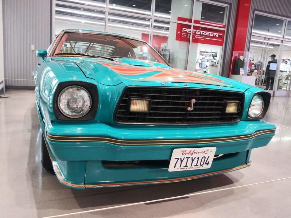 Ford Mustang II King Cobra + Guardians of the Galaxy Vol. 2 + Petersen