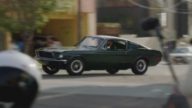 Bullitt Mustang Replica