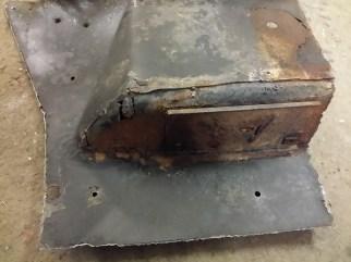 not so good repair of tray