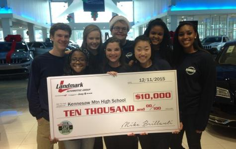 KMHS Raises Over $45k for Shop With a Mustang