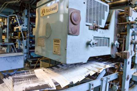 historic printing press