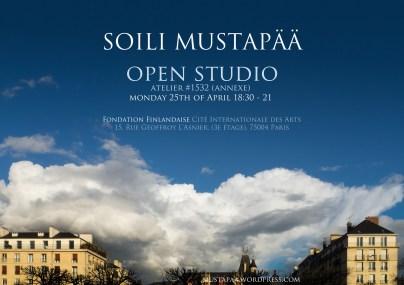 Open studio, poster