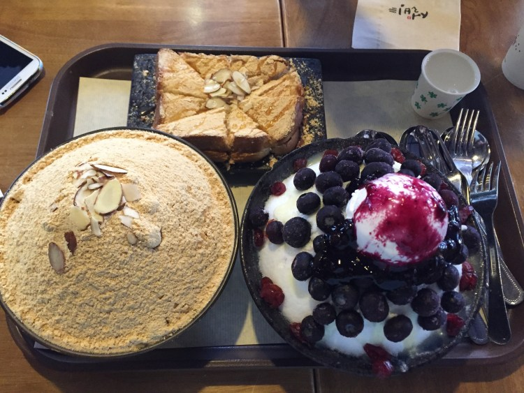 Bingsu, a tasty Korean dessert