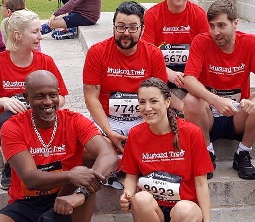 Take on the Great Manchester Run with Team Mustard!