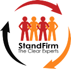 Logo for Stand firm, the Clear Experts